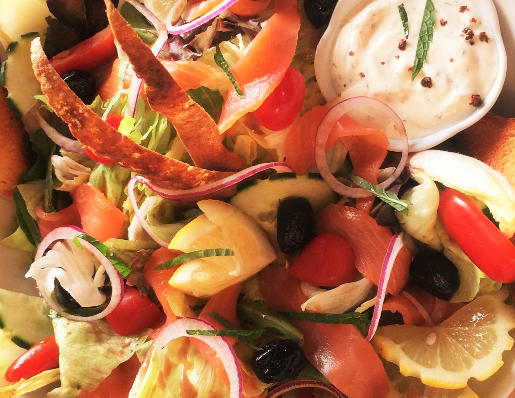 Les salades et grillades